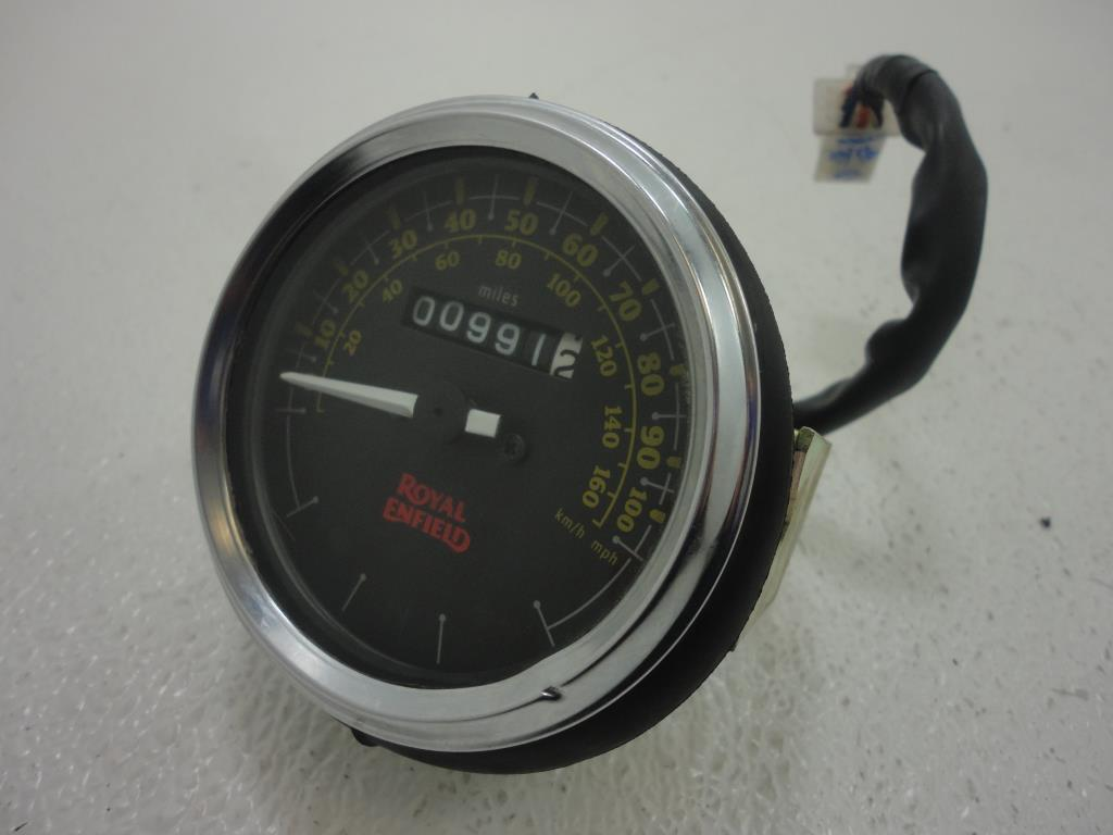 USED 2016 Royal Enfield Bullet 500 SPEEDOMETER SPEEDO