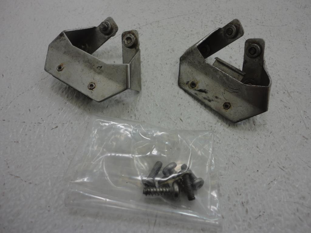 USED 1993-2013 Harley Davidson Touring FLH SADDLEBAG BRACKET SET OF TWO 90958-93
