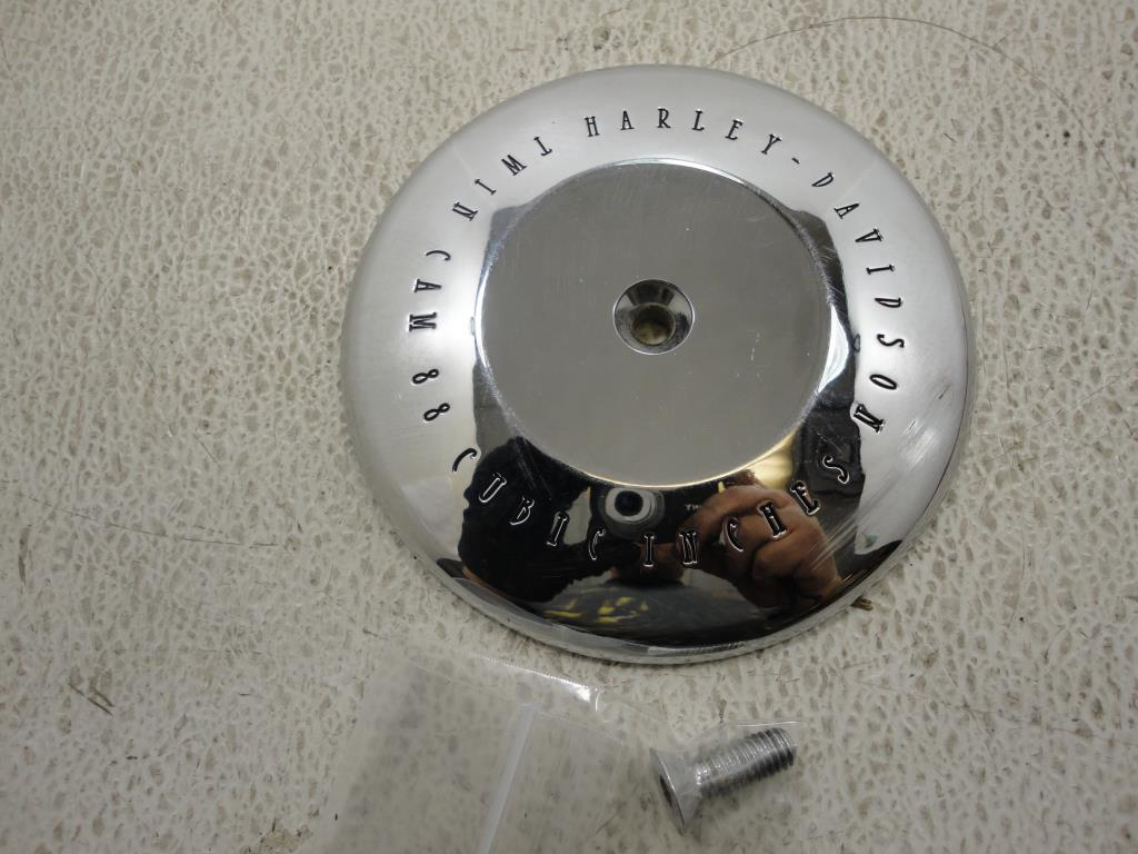 USED 1999-2006 HARLEY Davidson Twin Cam 88 CUBIC INCHES CHROME AIR CLEANER INSERT