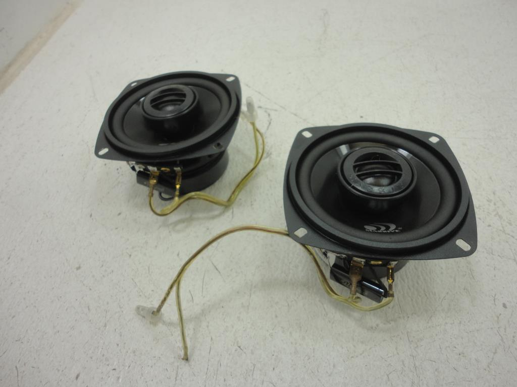 "USED Massive Audio LX 4 4"" 2-Way LX Series Coaxial Car Audio Speakers"