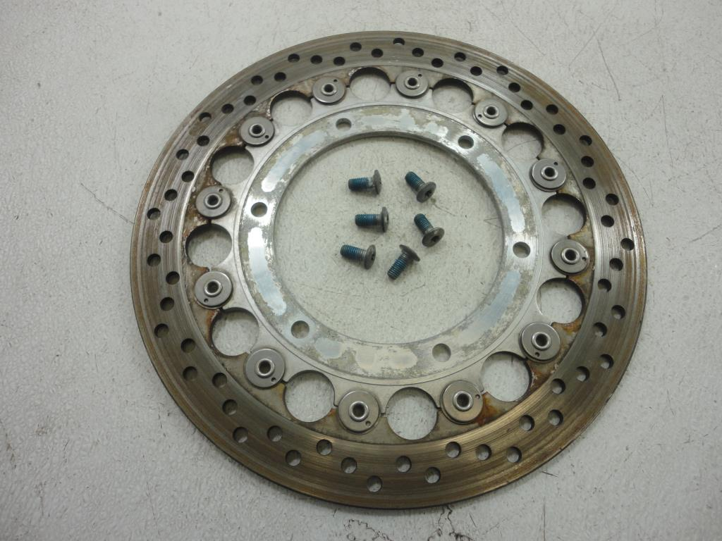 USED Triumph Thurxton LEFT FRONT BRAKE DISC ROTOR 2004 2005 2006 2007 CARB 08-16 EFI
