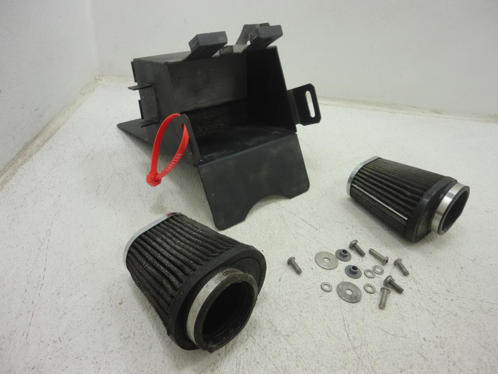 USED Triumph Thruxton EFI BATTERY BOX BRITTISH CUSTOMS AIR BOX REMOVAL KIT
