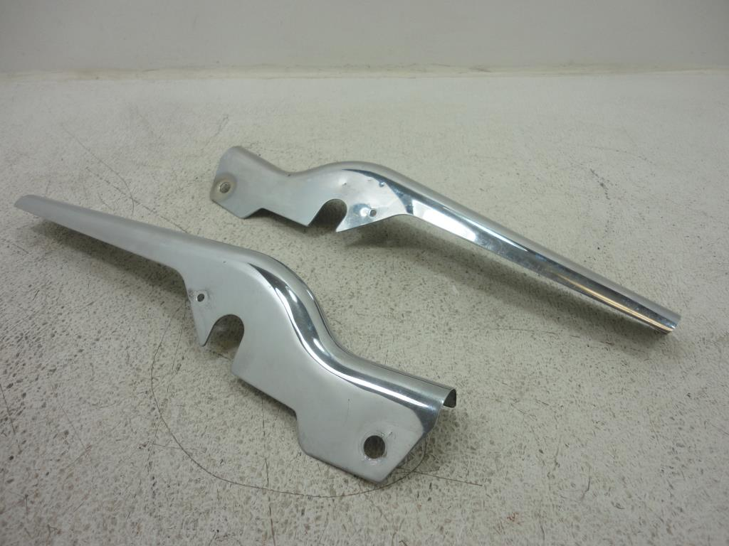 USED  1980-1996 Harley Davidson FLH Touring FENDER STRUT FRAME COVER LEFT RIGHT SET