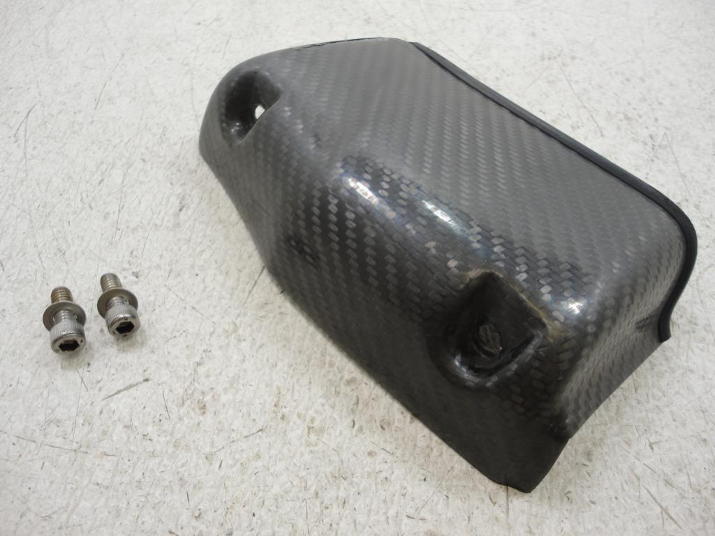 USED Buell XB CARBON FIBER OIL COOLER COVER SCOOP XB9 XB12 2002-2007 CARBON FIBER