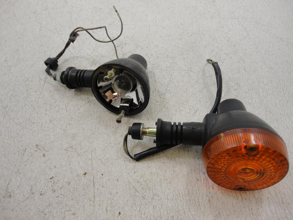 USED 1987-2007 Kawasaki KLR650 650 REAR TURN SIGNAL LIGHT LIGHTS LEFT RIGHT SET