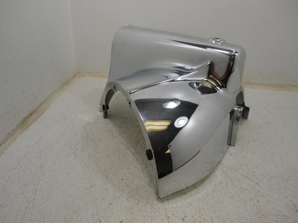 ... USED 1994-2002 Harley Davidson Road King CHROME RIGHT HEADLIGHT NACELLE  HOUSING OEM