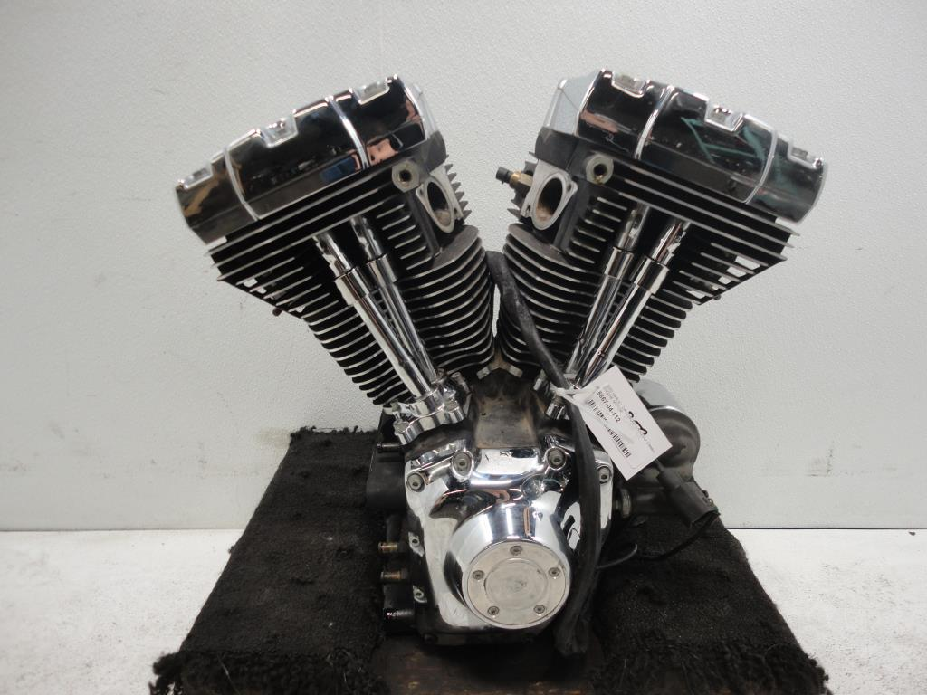 USED Harley Davidson Twin Cam 88 1450 ENGINE MOTOR (1999-2004 CASES HEAD) 2000 EFI